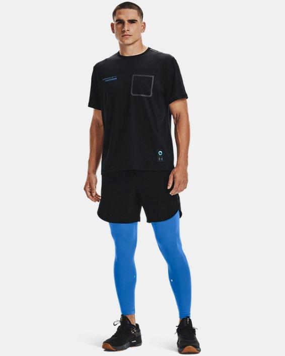 Men's UA + Virgin Galactic Pocket Short Sleeve, Black, pdpMainDesktop image number 0