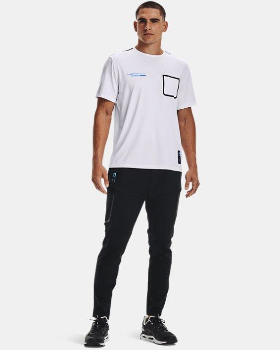 Men's UA + Virgin Galactic Pocket Short Sleeve, White, pdpMainDesktop image number 1
