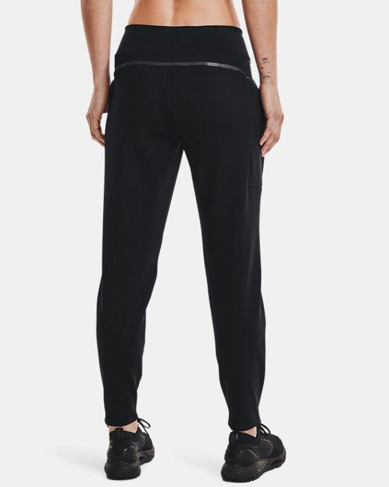 Women's UA + Virgin Galactic RECOVER™ Ponte Pants, Black, pdpMainDesktop image number 2