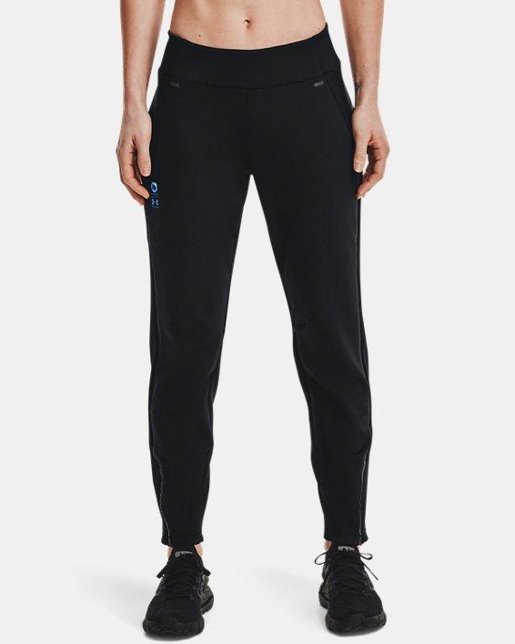 Women's UA + Virgin Galactic RECOVER™ Ponte Pants, Black, pdpMainDesktop image number 1
