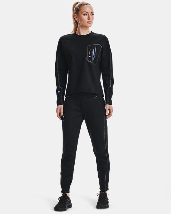 Women's UA + Virgin Galactic RECOVER™ Ponte Pants, Black, pdpMainDesktop image number 0