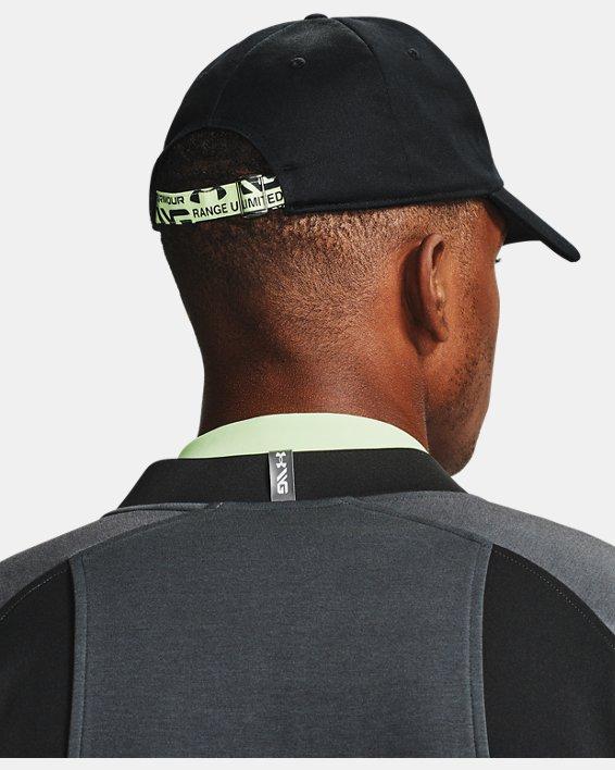 Men's Curry Golf Hat, Black, pdpMainDesktop image number 0