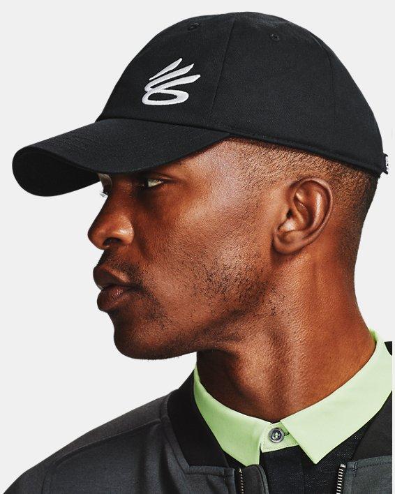 Men's Curry Golf Hat, Black, pdpMainDesktop image number 1