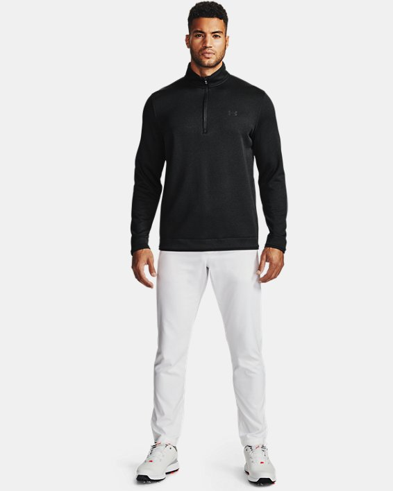 언더아머 Under Armour Mens UA Storm SweaterFleece ½ Zip,Black-001