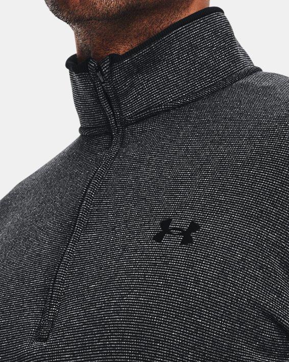 Men's UA Storm SweaterFleece ½ Zip, Black, pdpMainDesktop image number 4