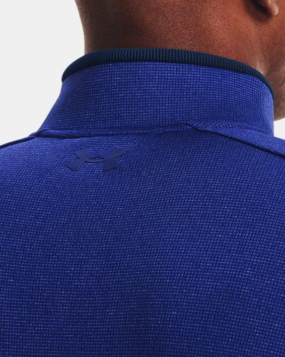 Men's UA Storm SweaterFleece ½ Zip, Blue, pdpMainDesktop image number 3