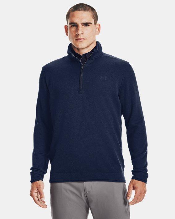 Men's UA Storm SweaterFleece ½ Zip, Navy, pdpMainDesktop image number 1