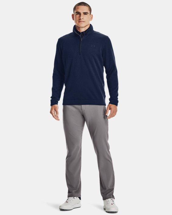 Men's UA Storm SweaterFleece ½ Zip, Navy, pdpMainDesktop image number 0