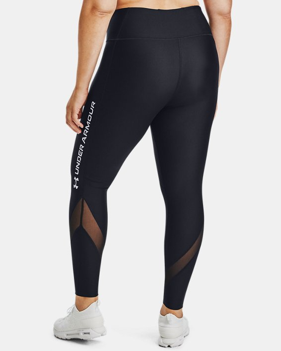 UA HG Armr Branded Legging&, Black, pdpMainDesktop image number 3
