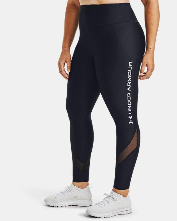 UA HG Armr Branded Legging&, Black, pdpMainDesktop image number 0