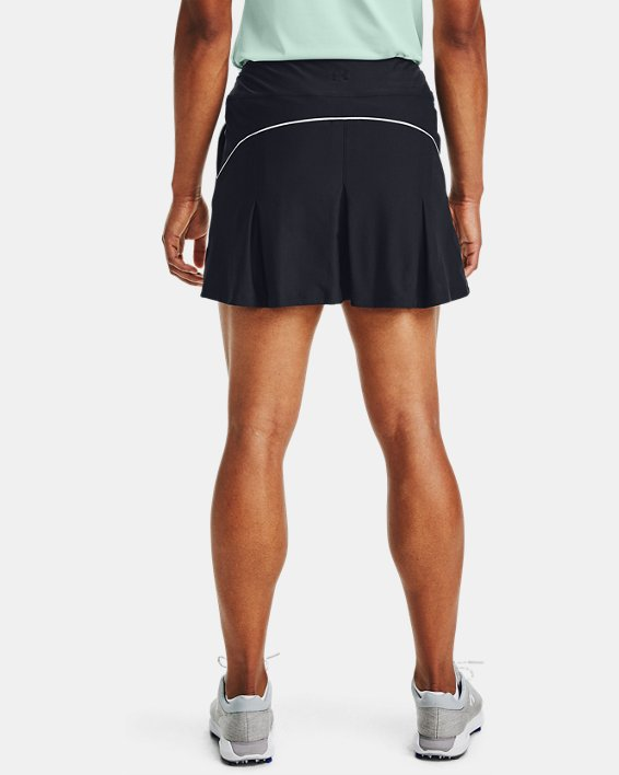 Women's UA Links Knit Skort, Black, pdpMainDesktop image number 0