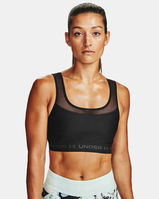 Women's Armour® Mid Crossback MF Sports Bra