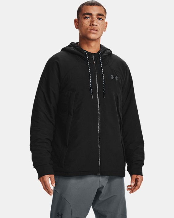 Men's UA Sky Insulate Jacket, Black, pdpMainDesktop image number 1