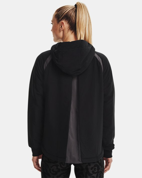 Women's UA Sky Insulate Jacket, Black, pdpMainDesktop image number 2
