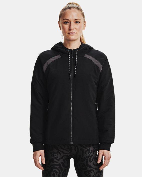 Women's UA Sky Insulate Jacket, Black, pdpMainDesktop image number 1