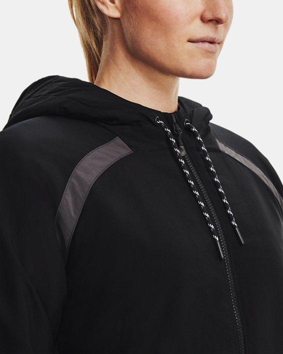 Women's UA Sky Insulate Jacket, Black, pdpMainDesktop image number 5