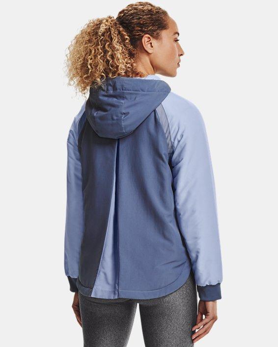 Women's UA Sky Insulate Jacket, Blue, pdpMainDesktop image number 2