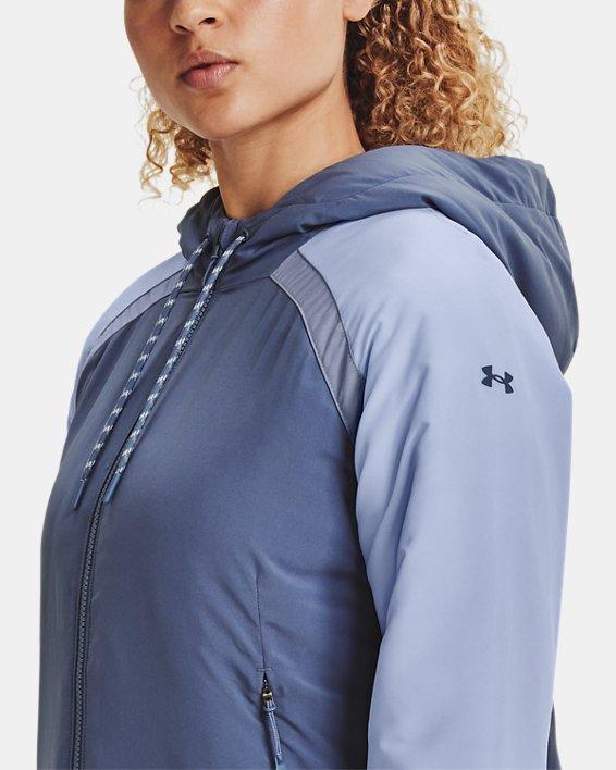 Women's UA Sky Insulate Jacket, Blue, pdpMainDesktop image number 5