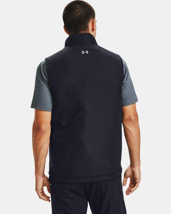 Men's ColdGear® Reactor Golf Hybrid Vest, Black, pdpMainDesktop image number 2