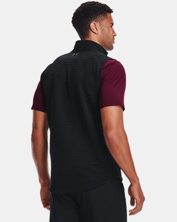 Men's UA Storm Evolution Daytona Vest, Black, pdpMainDesktop image number 2