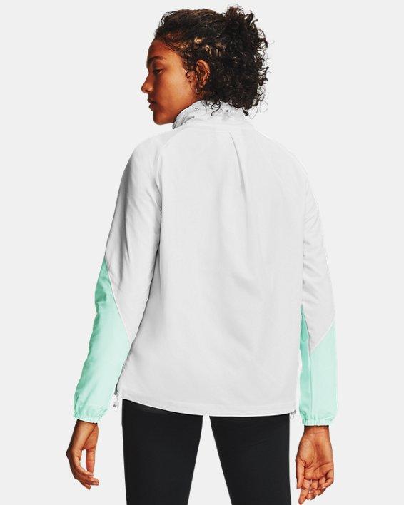 Women's UA RECOVER™ Woven CB Jacket, White, pdpMainDesktop image number 3