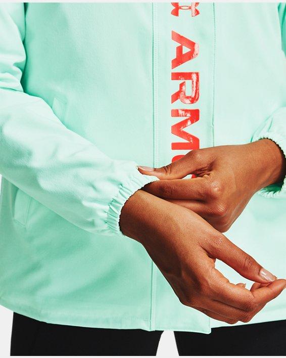 Women's UA RECOVER™ Woven CB Jacket, White, pdpMainDesktop image number 8
