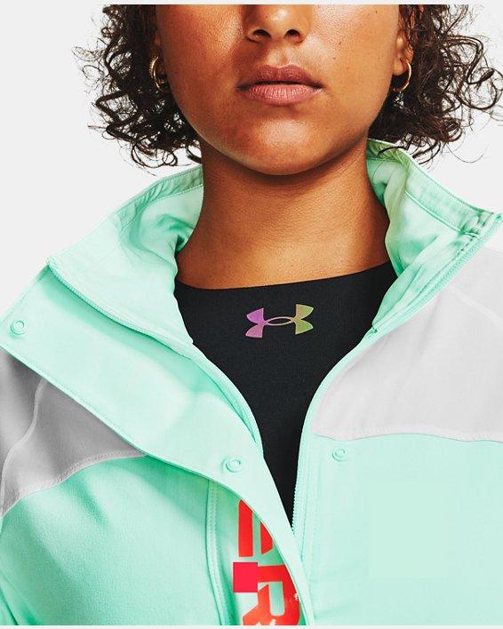 Women's UA RECOVER™ Woven CB Jacket, White, pdpMainDesktop image number 11