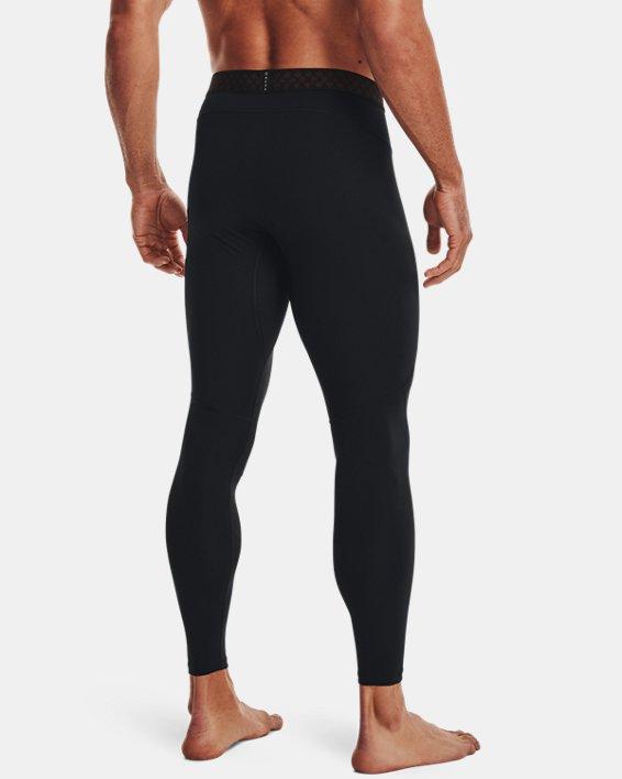 Men's UA RUSH™ ColdGear® 2.0 Leggings, Black, pdpMainDesktop image number 2