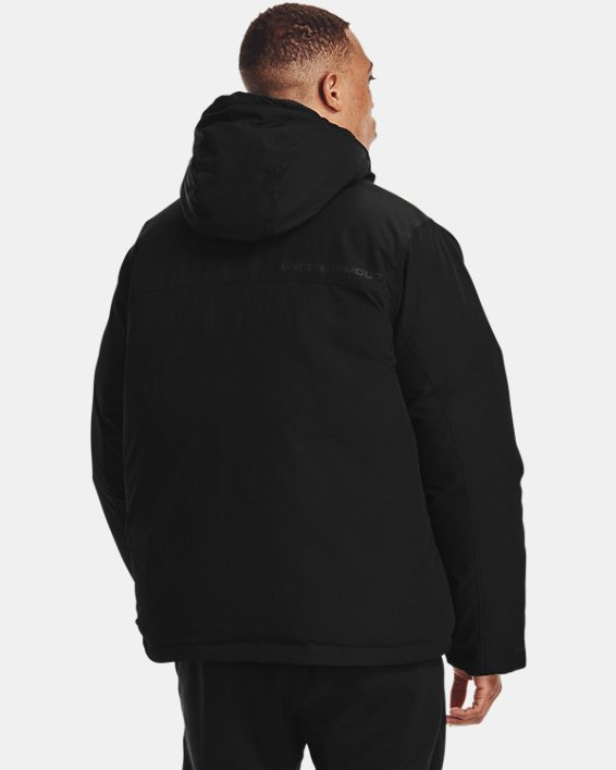 Men's UA Lock Down Jacket, Black, pdpMainDesktop image number 2