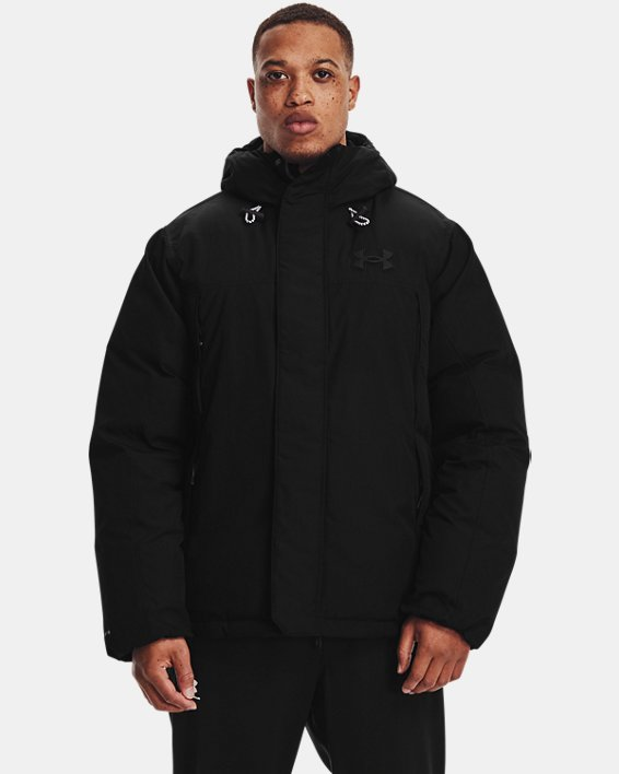 Men's UA Lock Down Jacket, Black, pdpMainDesktop image number 1