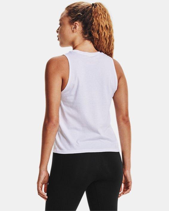 Débardeur UA Repeat pour femme, White, pdpMainDesktop image number 2