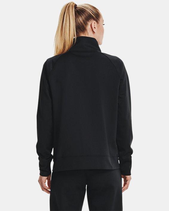 Veste en tricot UA RECOVER™ pour femme, Black, pdpMainDesktop image number 2