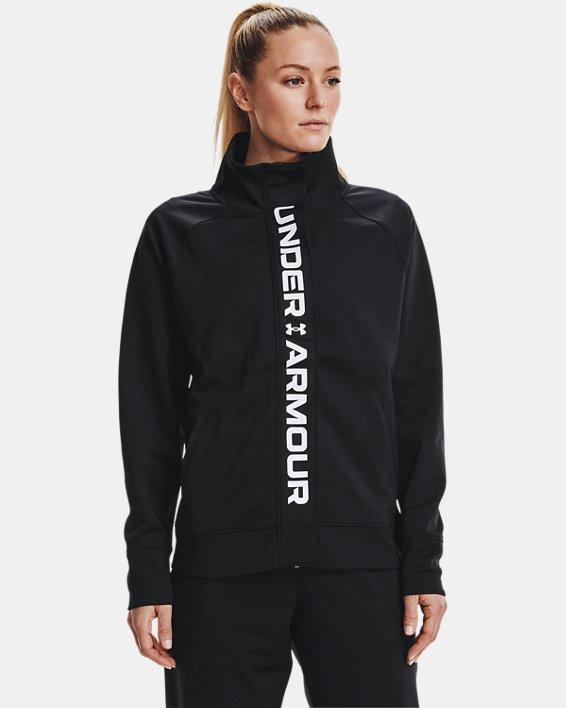 Veste en tricot UA RECOVER™ pour femme, Black, pdpMainDesktop image number 1