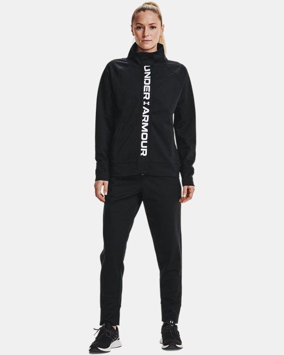 Veste en tricot UA RECOVER™ pour femme, Black, pdpMainDesktop image number 0