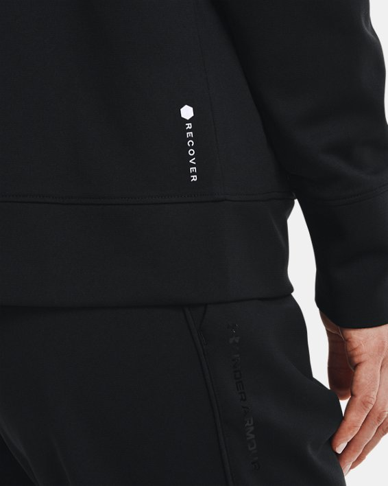 Veste en tricot UA RECOVER™ pour femme, Black, pdpMainDesktop image number 3