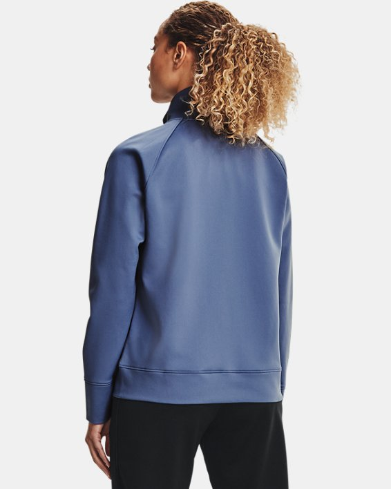 Chaqueta UA RECOVER™ Tricot para mujer, Blue, pdpMainDesktop image number 2