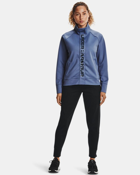 Chaqueta UA RECOVER™ Tricot para mujer, Blue, pdpMainDesktop image number 0