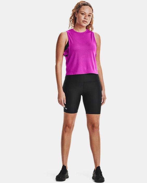 Women's HeatGear® Armour Bike Shorts, Black, pdpMainDesktop image number 0