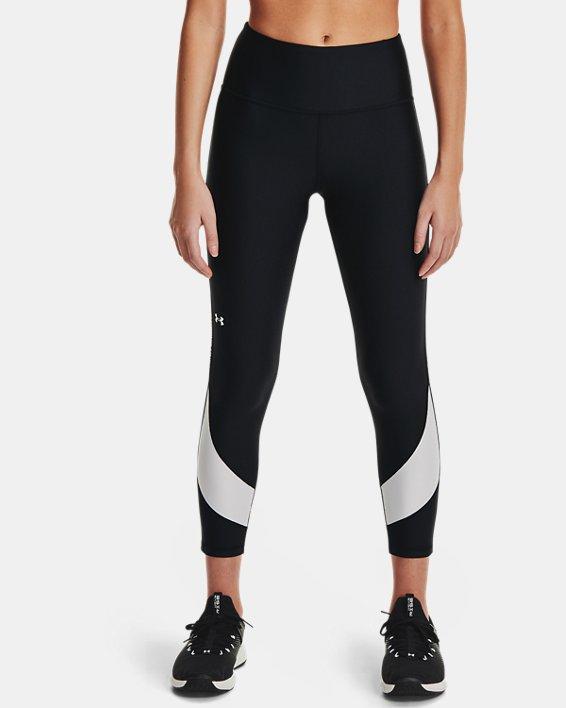 Legging longueur chevilles HeatGear® Armour No-Slip Waistband Taped pour femme, Black, pdpMainDesktop image number 1