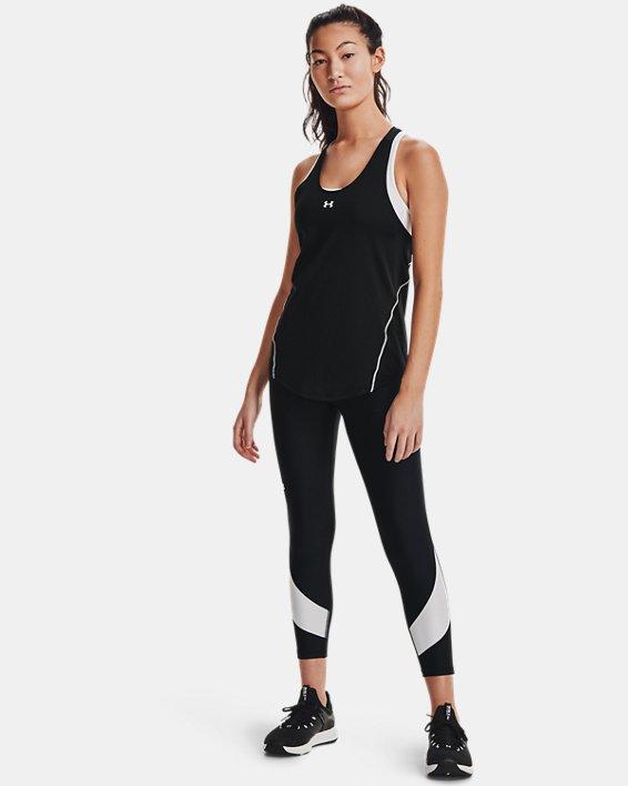 Legging longueur chevilles HeatGear® Armour No-Slip Waistband Taped pour femme, Black, pdpMainDesktop image number 0