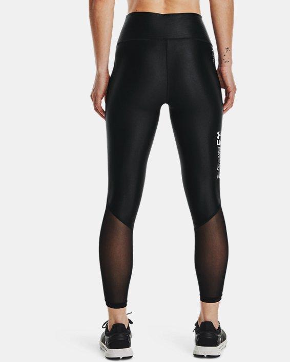 Women's UA Iso-Chill Ankle Leggings, Black, pdpMainDesktop image number 2