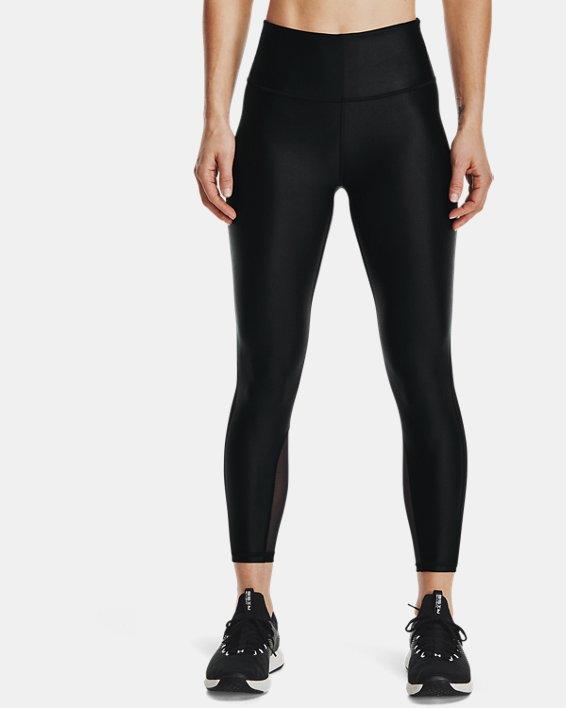 Women's UA Iso-Chill Ankle Leggings, Black, pdpMainDesktop image number 1