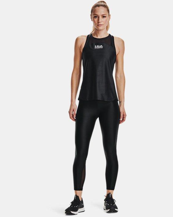 Women's UA Iso-Chill Ankle Leggings, Black, pdpMainDesktop image number 0