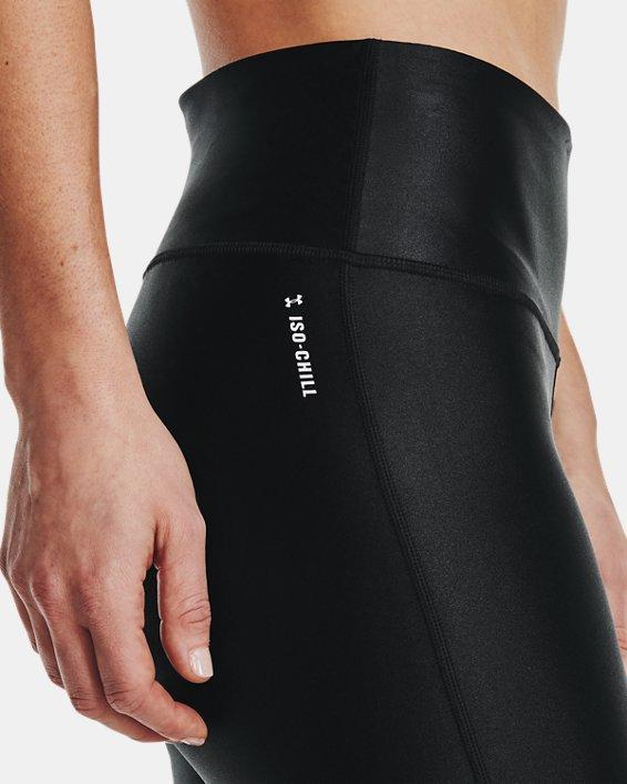 Women's UA Iso-Chill Ankle Leggings, Black, pdpMainDesktop image number 3