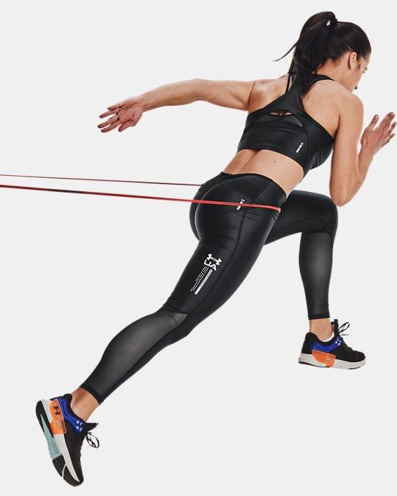 Women's UA Iso-Chill Full-Length Leggings, Black, pdpMainDesktop image number 6