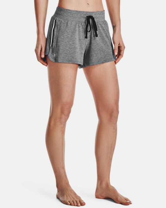 Women's UA RECOVER™ Sleepwear Shorts, Black, pdpMainDesktop image number 1