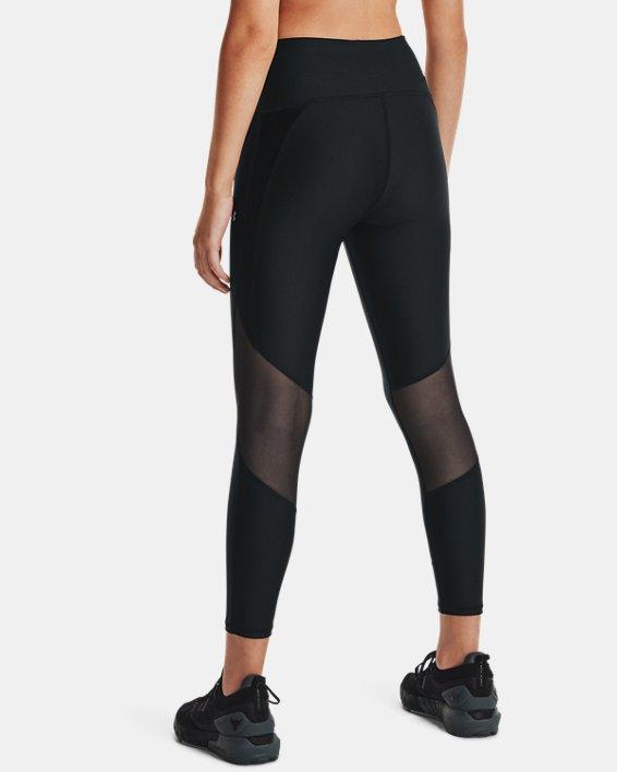 Women's Project Rock HeatGear® Ankle Leggings, Black, pdpMainDesktop image number 2