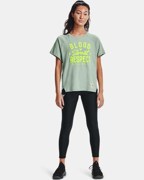 Women's Project Rock HeatGear® Ankle Leggings, Black, pdpMainDesktop image number 0