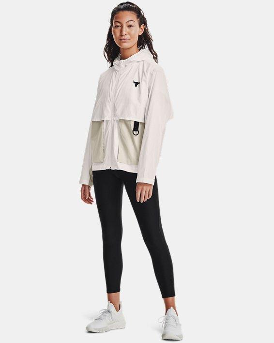Veste tissée Project Rock pour femme, White, pdpMainDesktop image number 0