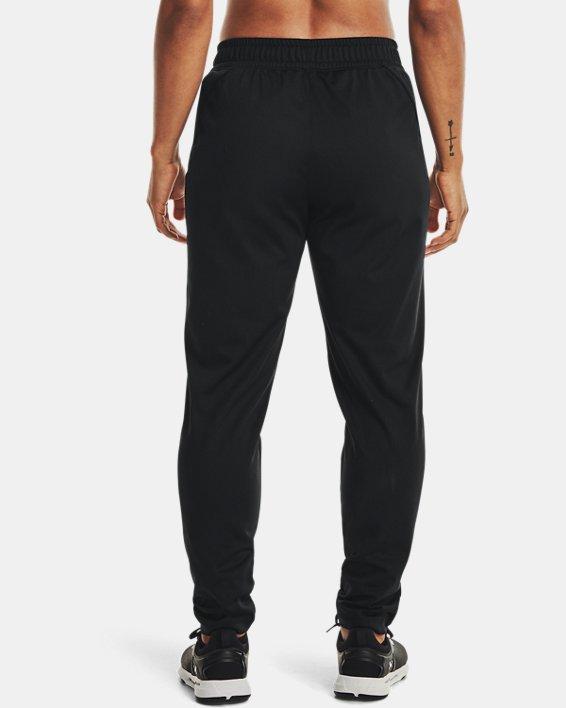 Women's UA Tricot Pants, Black, pdpMainDesktop image number 2